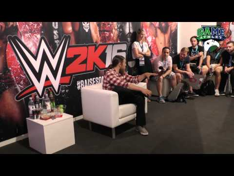 Daniel Bryan Round Table Interview Gamescom 2015
