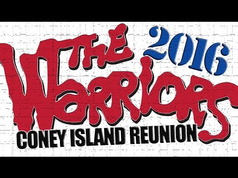 THE WARRIORS Coney Island Reunion 2 2016