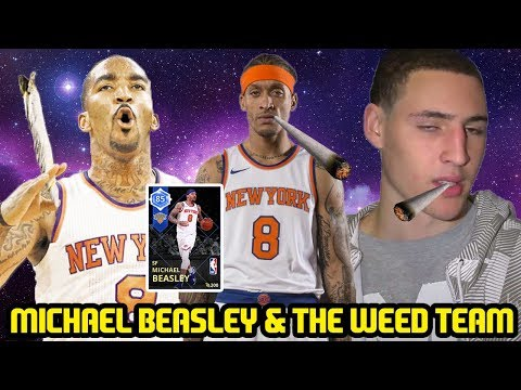 MOMENTS MICHAEL BEASLEY w NBA WEED SQUAD! SUPERMAX CHALLENGE! NBA 2K18 MYTEAM