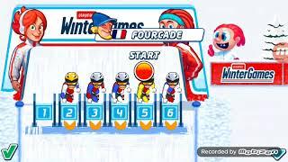 Турнир биатлонистов в игре Playman Winter Games.