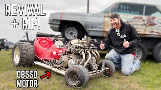 550cc Little Tikes Car Revival | 50HP Tire Killer Go Kart!