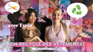 ON RECYCLE DES VETEMENTS ! ft @Tycia