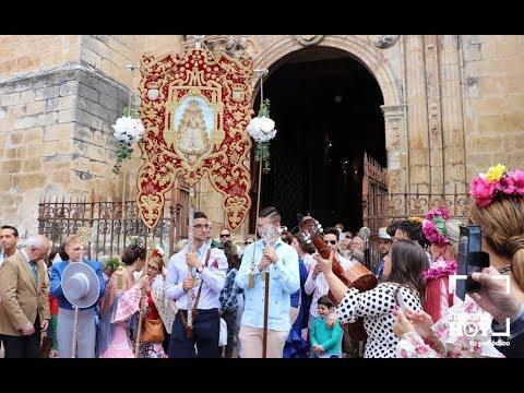 VÍDEO: Salida de la Hermandad del Rocío de Lucena hacia tierras almonteñas