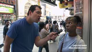 Billy Eichner Fights With A Woman About Denzel Washington
