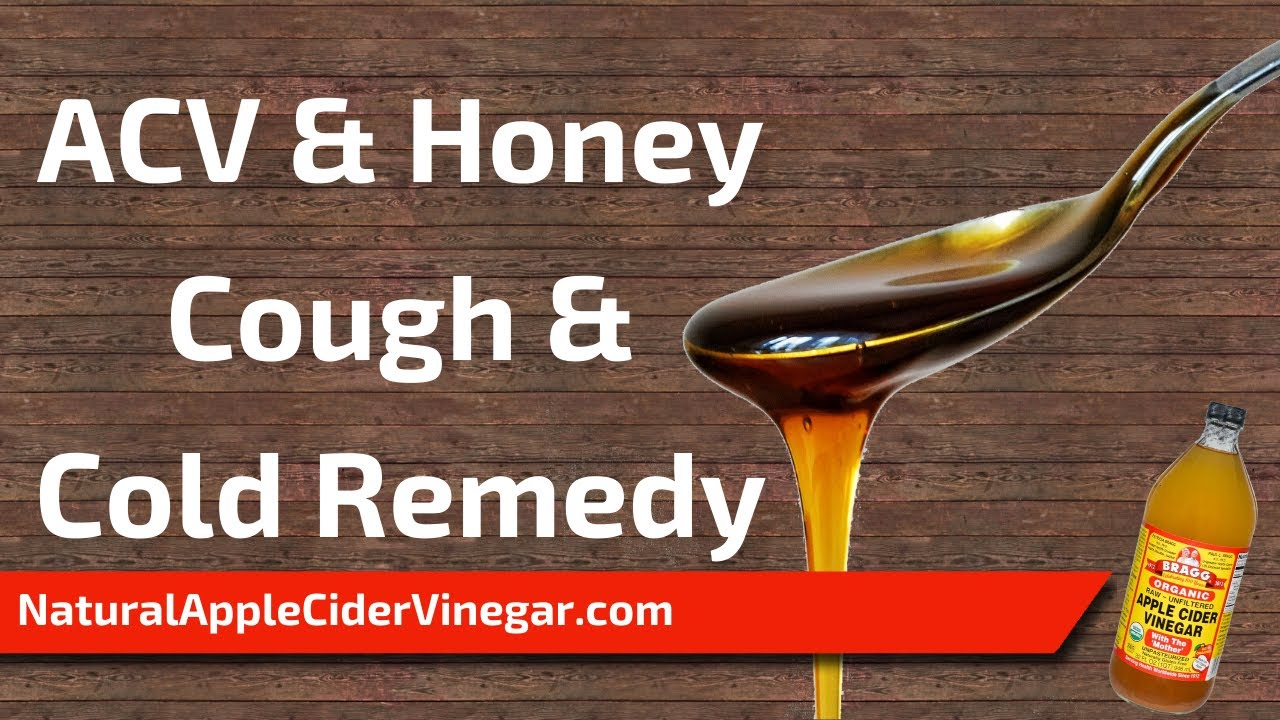 Apple Cider Vinegar and Honey Recipe for Coughs and Colds