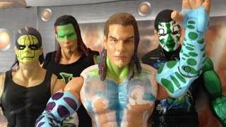 Jeff Hardy figure collection & WWE & TNA legends of the ring exclusive wrestling figure review