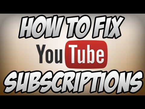 Youtube my subscriptions not updating dating naked girls