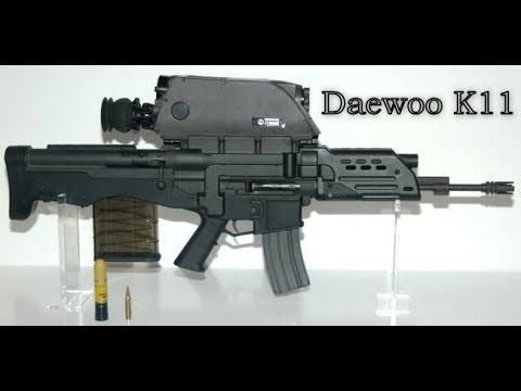Improve South Korean K11 air burst rifle with semi & full ...