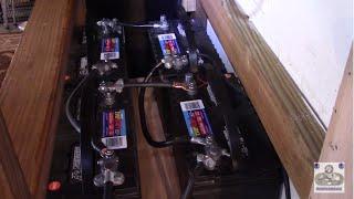 Rewiring solar power battery back from 12v to 24v (Upgrading inverter to Outback Power)