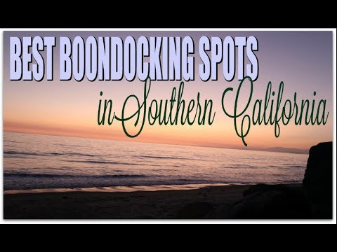 BEST Boondocking Stealth Camping Spots in  Southern California| Overnight Parking