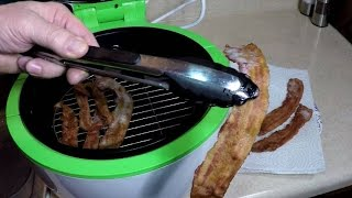 Air Fried Bacon GoWise Air Fryer