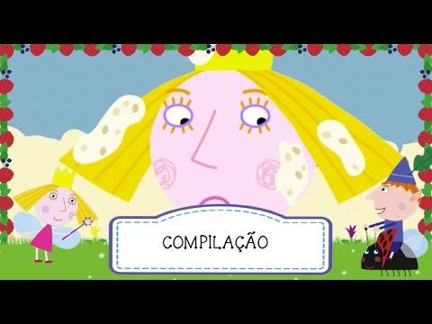 O Pequeno Reino de Ben e Holly - Compilação 3 (uma hora) - Português BR