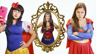 A PRINCESA E O ESPELHO MÁGICO | THE PRINCESS AND THE MAGIC MIRROR - Kids Pretend Play Princess