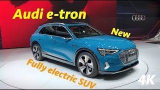 audi e tron 2019 first quick review in 4k better than tesla?