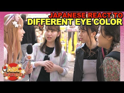 Do Japanese ENVY foreigner's EYES? Ask Japanese what they are jealous about
