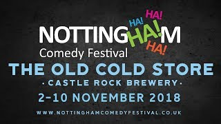 Nottingham Comedy Festival 2018 Trailer