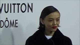 Rila FUKUSHIMA @ Paris 2 october 2017 Opening Louis Vuitton Vendome...