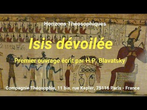 Isis dévoilée (premier ouvrage d'H.P. Blavatsky)