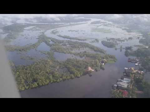 Landing Iquitos Peru - LAN Airlines - LATAM Airline