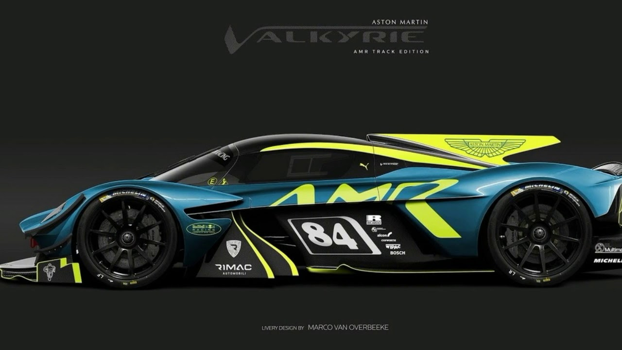 official aston martin valkyrie amr pro screaming viking from the