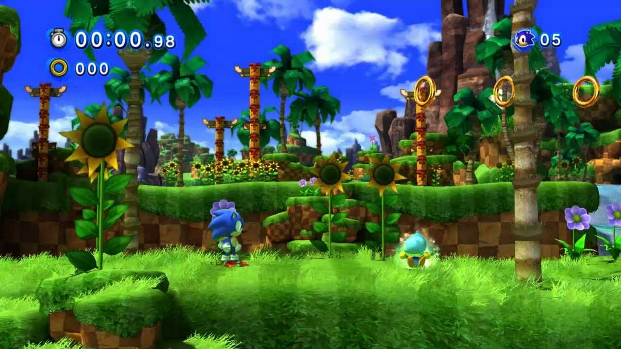 Lets Play Sonic Generations Part 2 - YouTube  |Sonic Generations 2 Player Mode