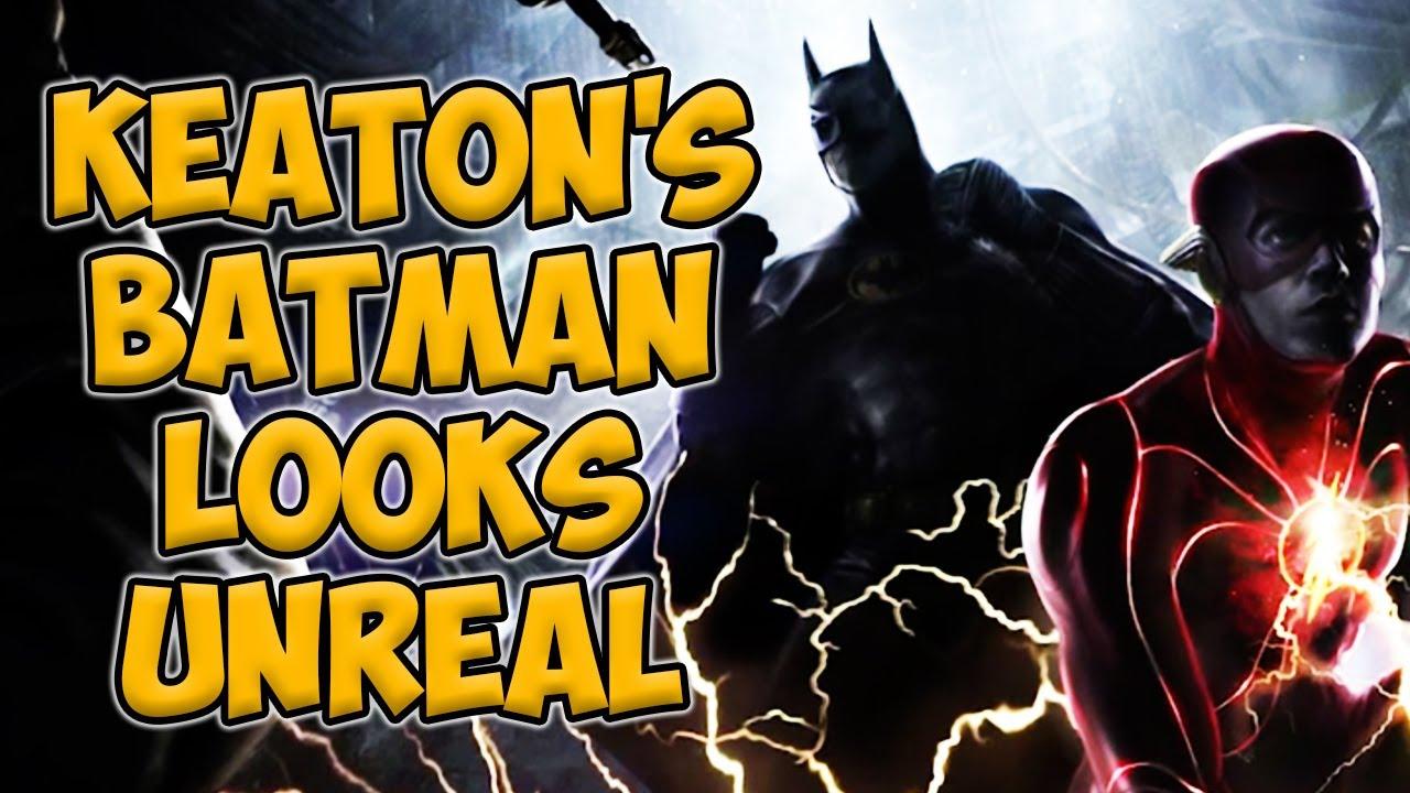 Download Michael Keaton's Batman Looks Amazing In New Flash Movie Leaks