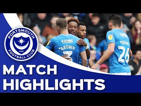 Highlights: Portsmouth 4-1 Rochdale