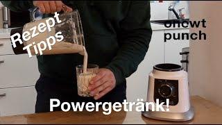 Energy Drink für Perfektes Training / Viel Eiweiß, Kohlenhydrate, Vitamine und gesundes Öl