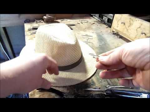 Make A Fish Hook Hat Clip