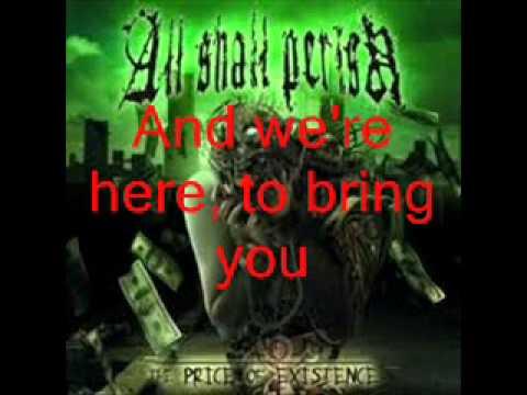 All Shall Perish - We Hold These Truths w/ LYRICS