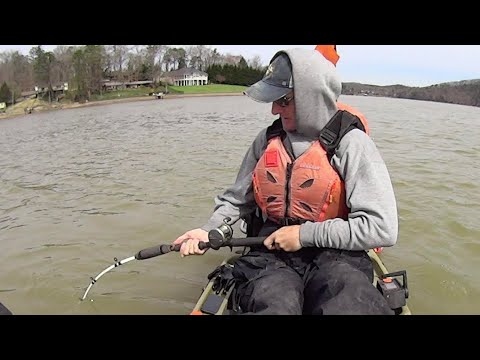 Early Spring Fishing For Trophy Size Blue And Flathead Catfish