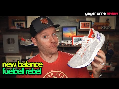 NEW BALANCE FUELCELL REBEL REVIEW | The Ginger Runner