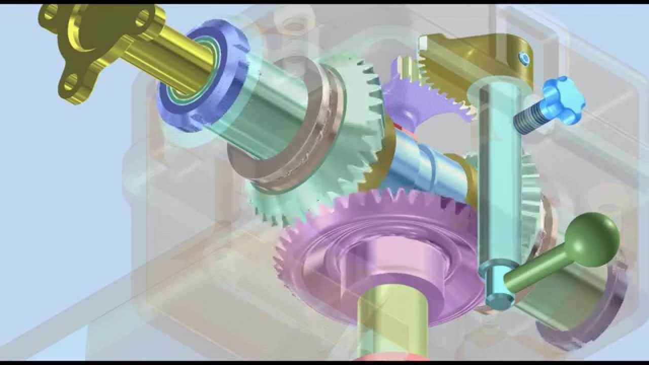 Inventor 2015 animation gear box youtube inventor 2015 animation gear box ccuart Image collections