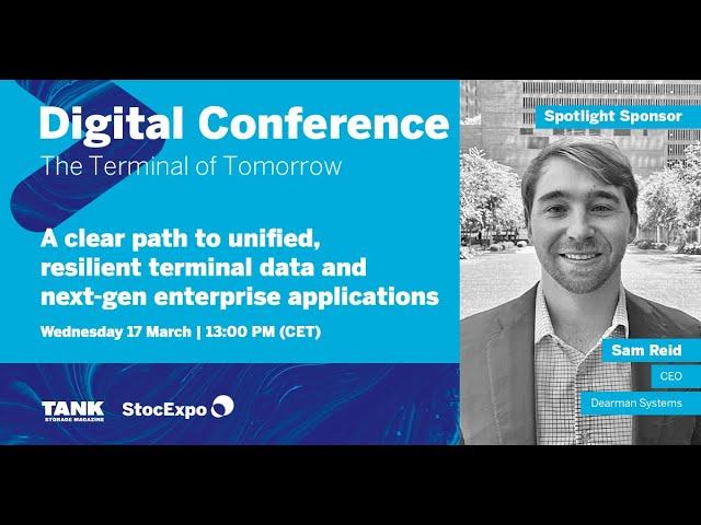 Dearman Systems Presentation - The StocExpo & Tank Storage Magazine Digital Conference 2021