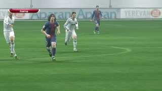 pes2014 Ronaldo vs Barcelona