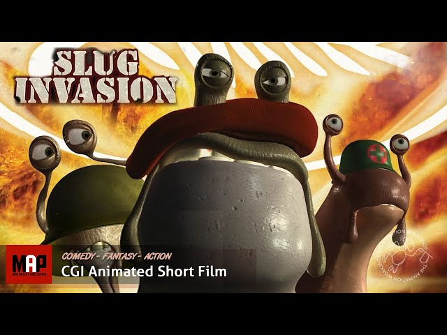SLUG INVASION | All is fair in hunger and war! (Hilarious 3D CGI Film by The Animation Workshop)