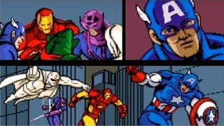 Captain America and the Avengers (SNES) Playthrough - NintendoComplete