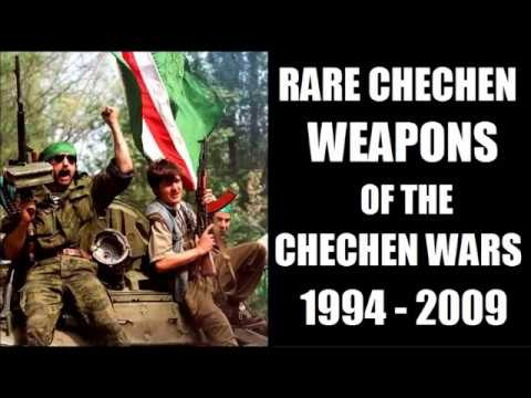 Rare Weapons of the Chechen Wars 1994 to 2009