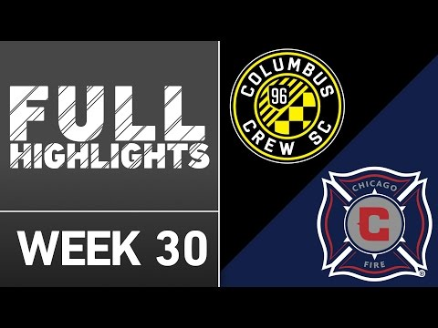 HIGHLIGHTS | Columbus Crew SC 3-0 Chicago Fire