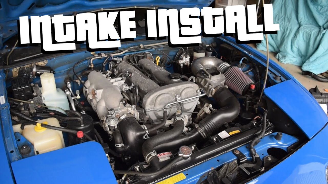 Project BRAP // HIGH-FLOW INTAKE INSTALL \\ - YouTube