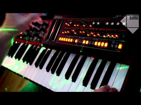 Roland Boutique JP-08 JU-06 JX-03 epic ambient jam session (BURG - Komorebi)