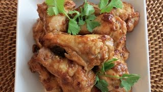 Marinated Chicken Wings In Oven -- The Frugal Chef