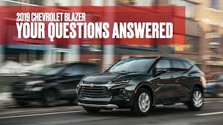 homepage tile video photo for 2019 Chevrolet Blazer: We Answer Your Questions