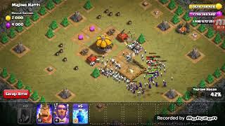 Clash Of Clans Son Seviye Cadı ile Savaş