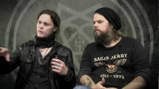 Ville and Mige HIM Interview Metal Hammer Tears On Tape Tracks 6 9