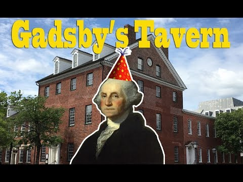 Oldest Bar In Alexandria Virginia - Gadsby's Tavern, Tour And History