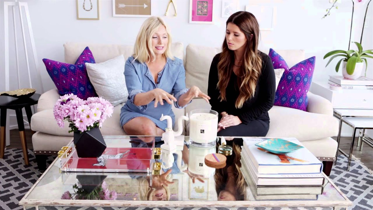 How To Decorate Your Coffee Table In 4 Easy Steps | #AskKat | InStyle