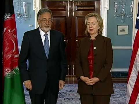 Secretary Clinton Holds a Bilateral Meeting With Afghan Foreign Minister Rassoul