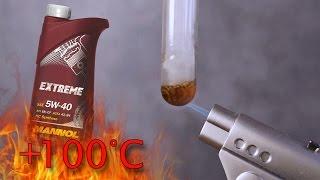 Mannol Extreme 5w40 Jak czysty jest olej silnikowy? Test powyżej 100°C
