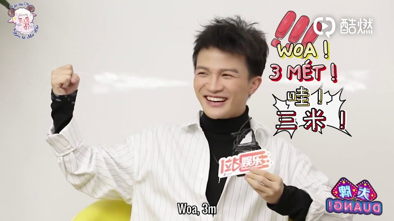 """(VIETSUB) Châu Thâm trả lời phỏng vấn """"Đại bài duang"""""""